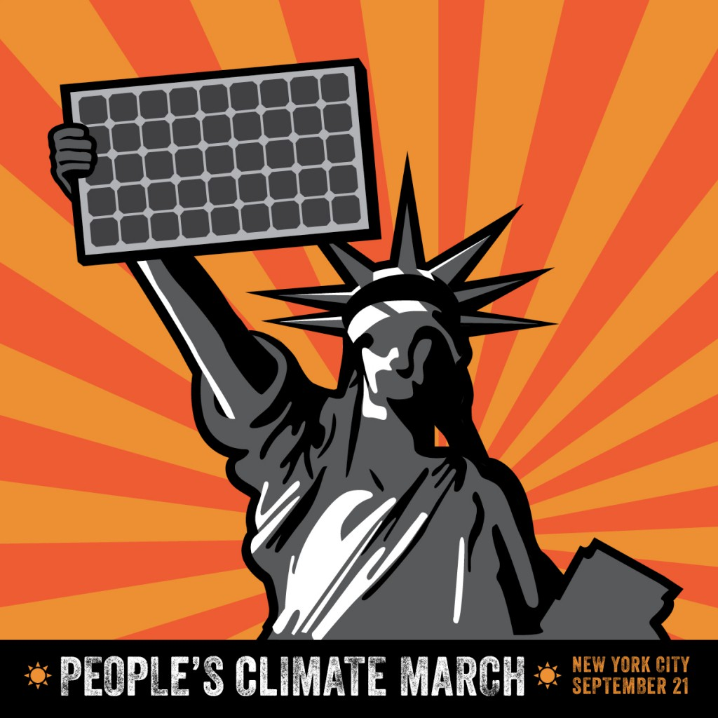 Peoples Climate March - Liberty Solar