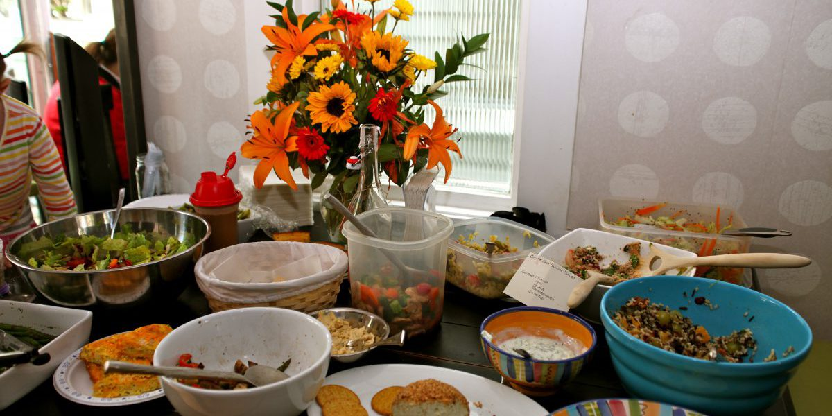 Buy Nothing Day Potluck: the tradition continues!